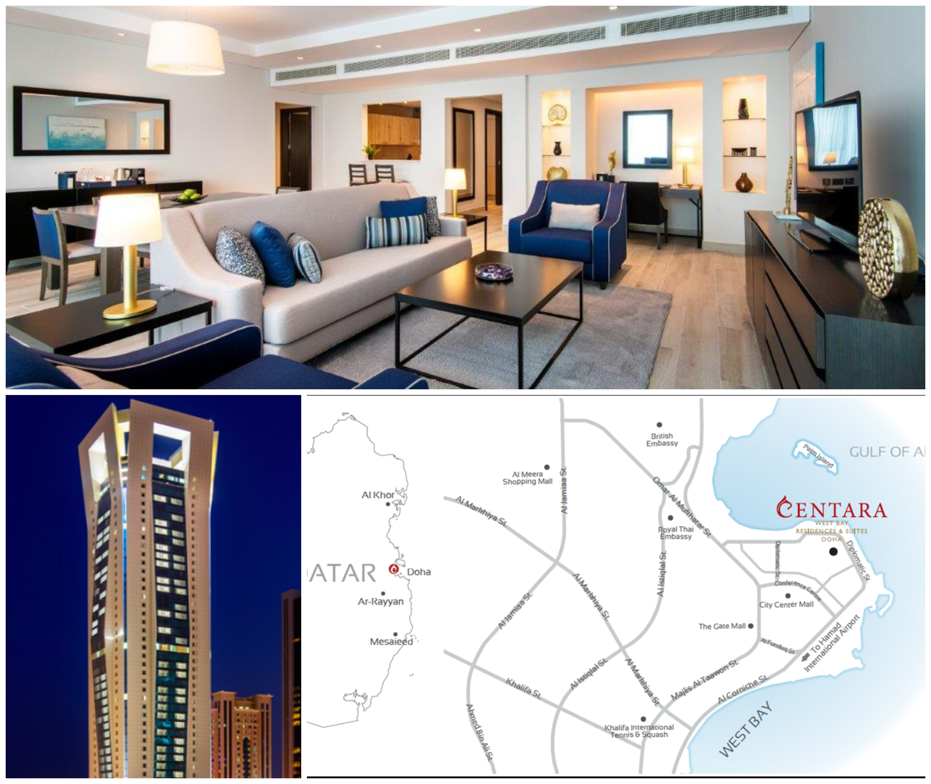 Centara West Bay Residences & Suites